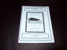 Southport Reserves v Guiseley Reserves, 1997/98